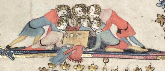 Роман об Александре (1338), Фландрия 1 (550x237, 35Kb)