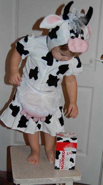 Карнавальные костюм коровы своими руками 177