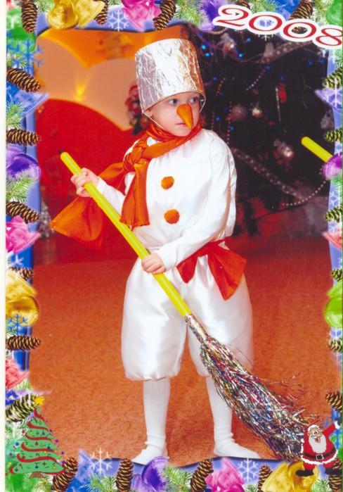 Как сшить костюм снеговика своими руками для