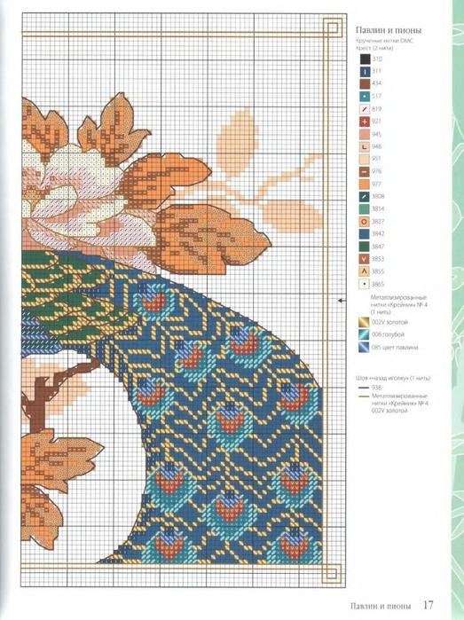 Схемы вышивки крестом лесли тиэри 23