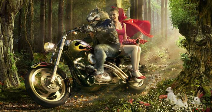 12259_krasnaya-shapochka_volk_motocikl_2020x1070_(www.GdeFon.ru) (700x371, 156Kb)