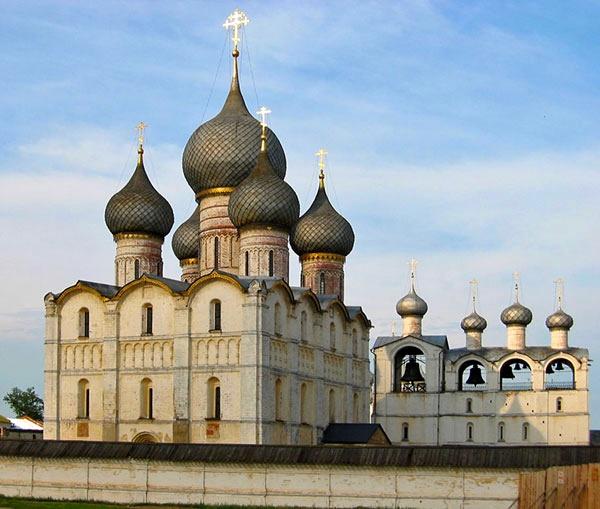 Успенский собор в Ростовском кремле фотографии
