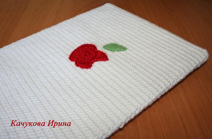 Вязание чехла для бумаги