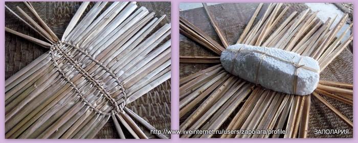 Как плетут лапти схемы