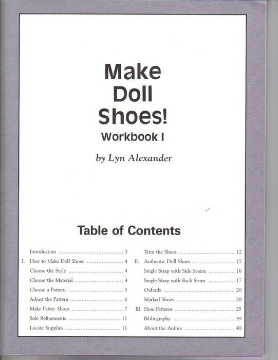 Make Doll Shoes workbook 001 (541x700, 158Kb)