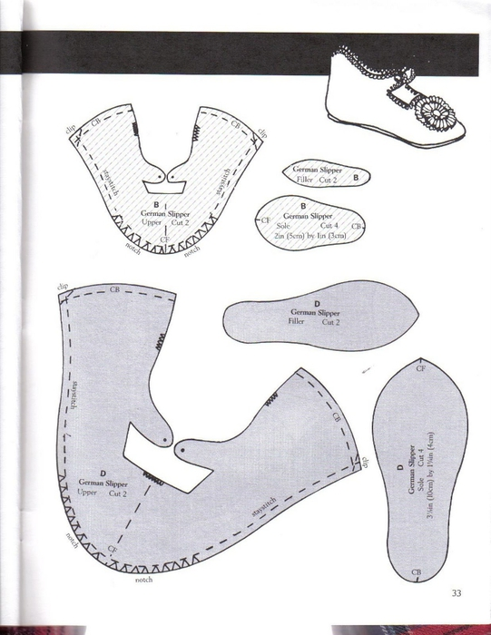 Make Doll Shoes workbook 1 033 (541x700, 188Kb)