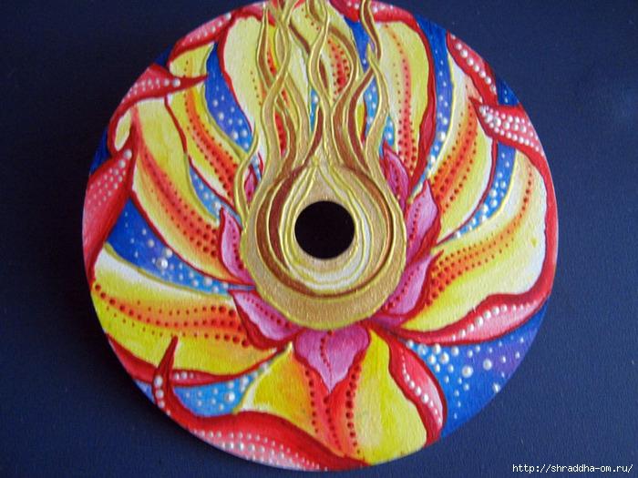 цветок Вперёд Ботхисатвы, акрил, автор Shraddha, 4 (700x525, 280Kb)