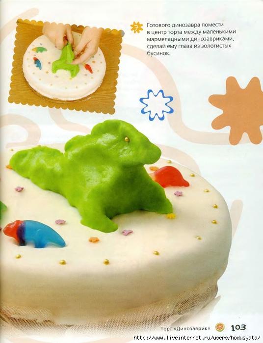 Рецепты детских фигурных тортов с фото