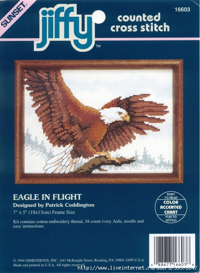 3937664_Dimensions_16603__Eagle_in_Flight (411x562, 189Kb)