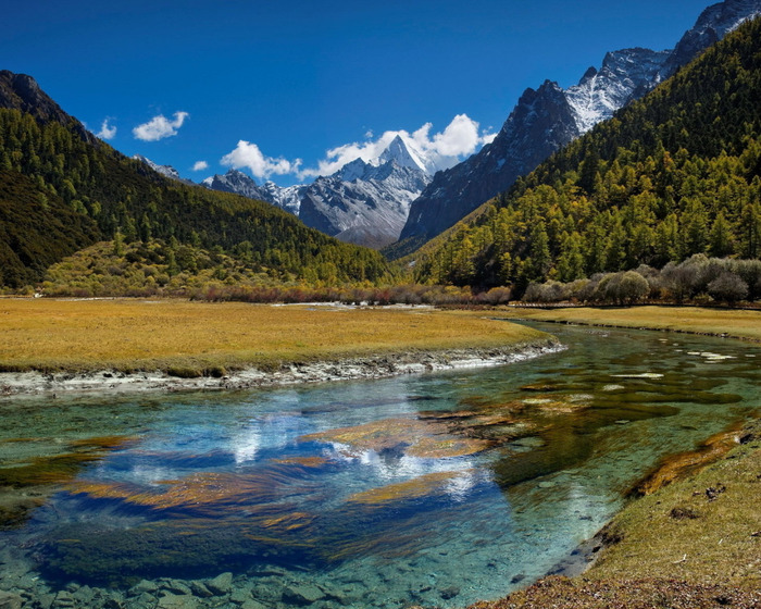 9 обои горная река (700x560, 190Kb)