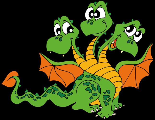 Клипарты скрап наборы 2012 Весёлые дракончики, год дракона.