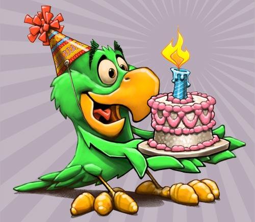 Поздравления мультяшные с днем рождения
