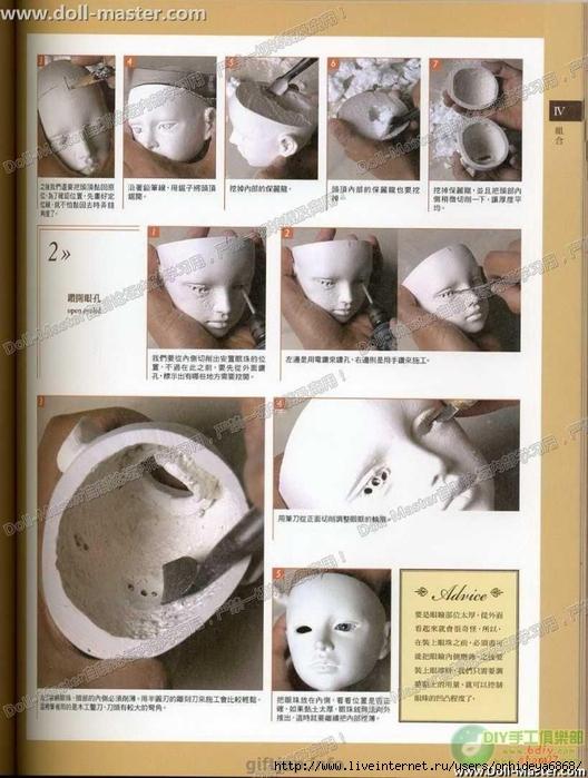 Обалденная книга по изготовлению шарнирной куклы.  Прочитать целикомВ.
