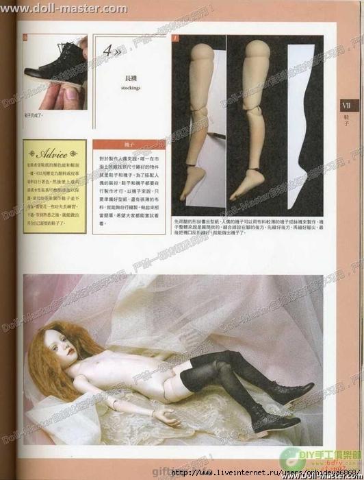 Отличная книга с туториалом в картинках по созданию шарнирной куклы.  Всё, начиная, от рисунка и заканчивая...