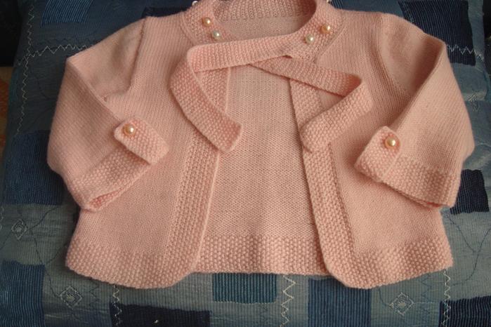 Вязание жакета на девочку 1 год 31