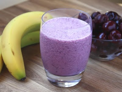 cherry banana smoothie - small size (400x304, 16Kb)