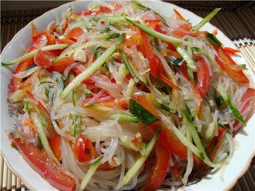 Фунчоза салат рецепт