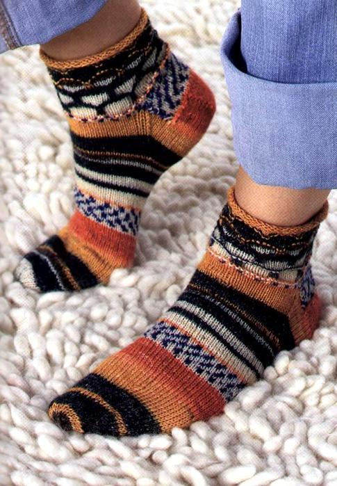 Вяжем носки. Модели для всей семьи_8 (485x700, 76Kb)