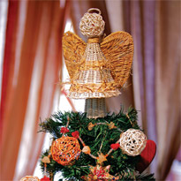 Ангел на елку. Мастер-класс с фото на Supersadovnik.ru
