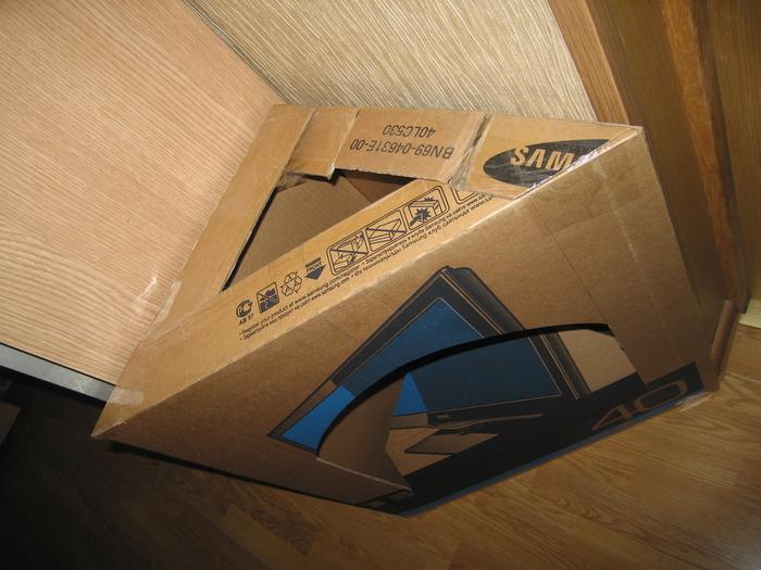 Мебель из картонной коробки своими руками