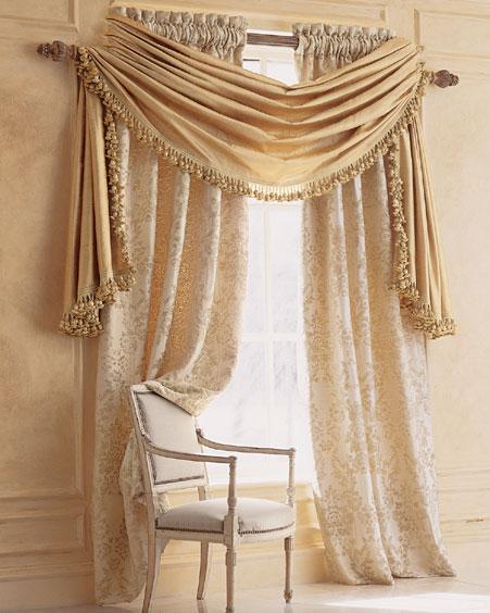 Как пошить штору своими руками