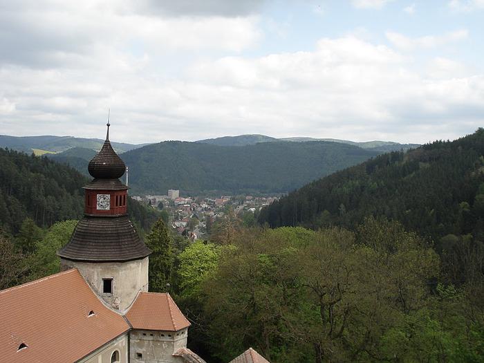Чехия: Замок Пернштейн 95027