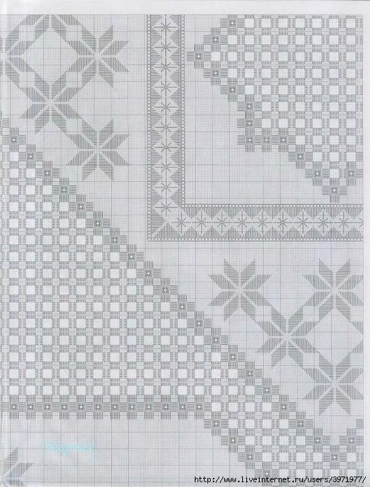 Вышивка хардангер мастер класс для начинающих схемы 5