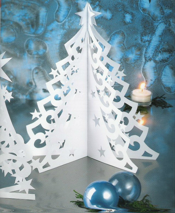 28 best kirigami christmas tree how to make folded