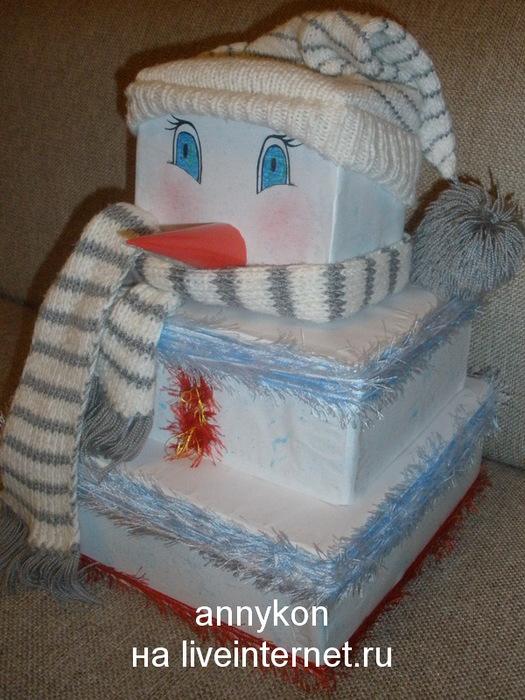 снеговик из коробок/4668337___ (525x700, 143Kb)