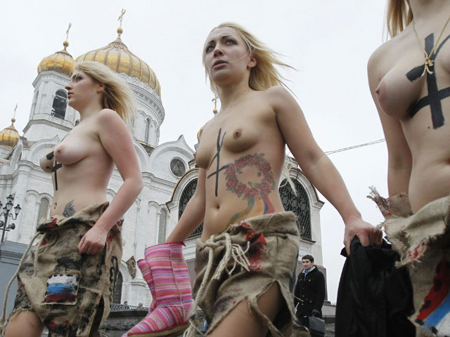 голых украинских девушек