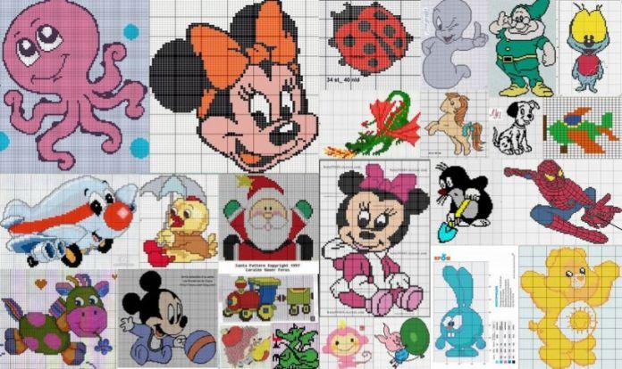 рисунки спицами для детей: