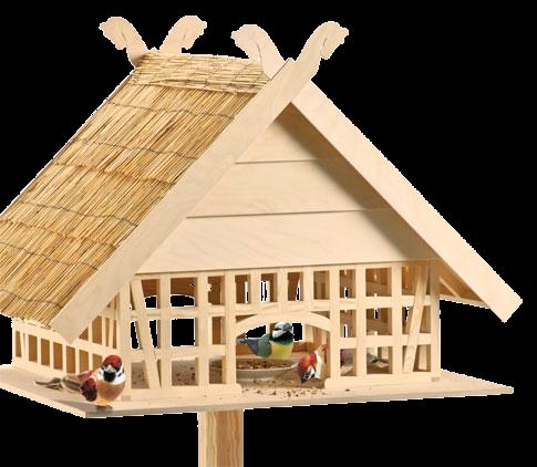 Фахверковая кормушка для птиц.