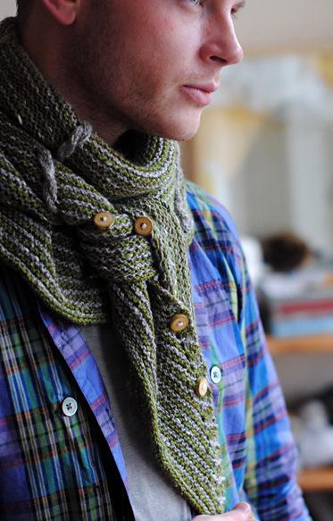 男人的围巾、女人的披肩 - maomao - 我随心动