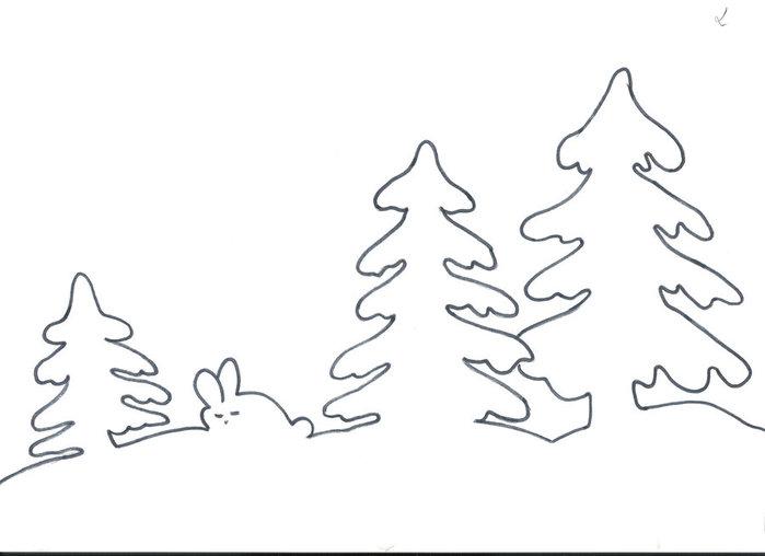 Новогодние трафареты из бумаги своими руками шаблоны