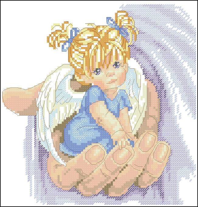 ангелочки схема dimensions