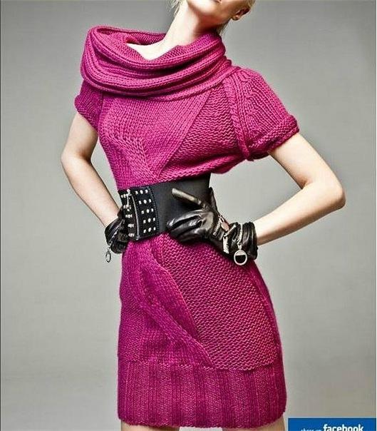 Salon-Piko.ru предлагает вязаные платья на заказ, вяжем красивые...
