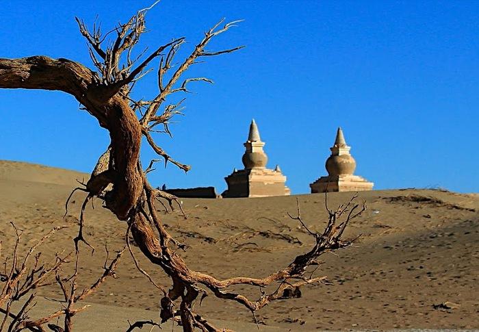 Геологический парк пустыни Алашань 57736