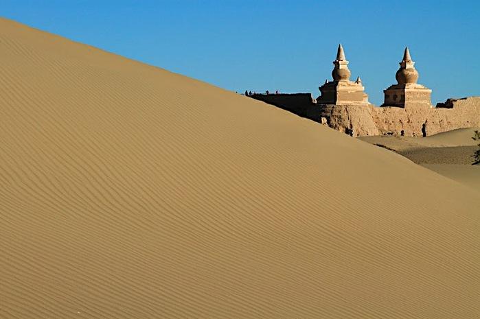 Геологический парк пустыни Алашань 54157