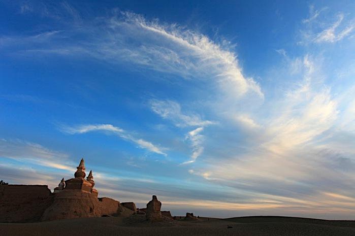 Геологический парк пустыни Алашань 55861