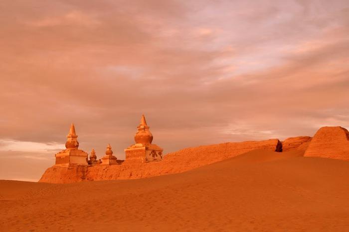 Геологический парк пустыни Алашань 84179