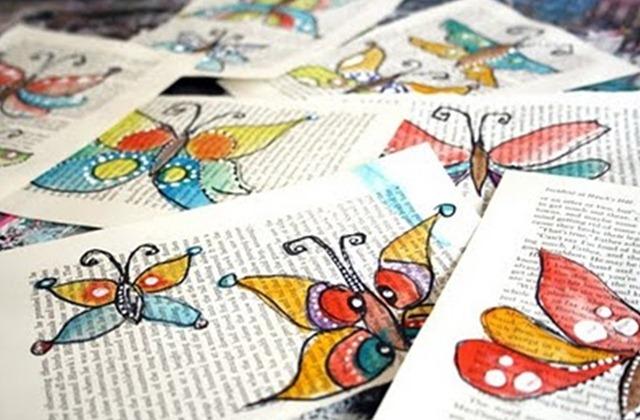 Книга рисуем бабочек