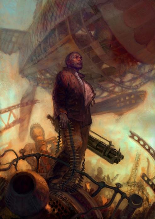 Красочные Sci-fi иллюстрации Джона Фостера