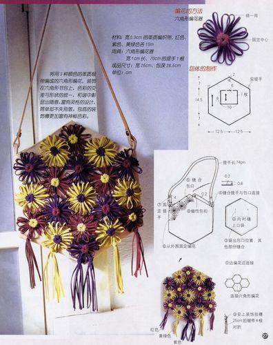 Украсим сумочку цветами.  Понравилось.  В цитатник или сообщество.