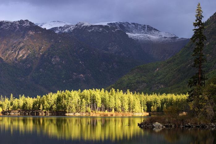 горное озеро (700x466, 159Kb)