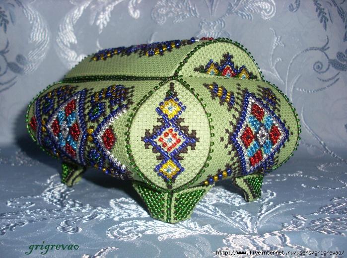 Ажурные узоры для вязания на спицах шарфов 22