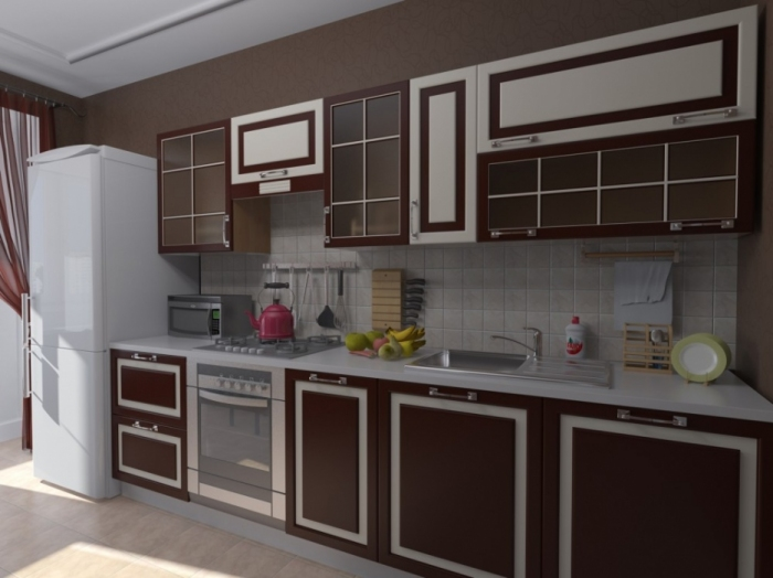 Разные дизайны кухонь