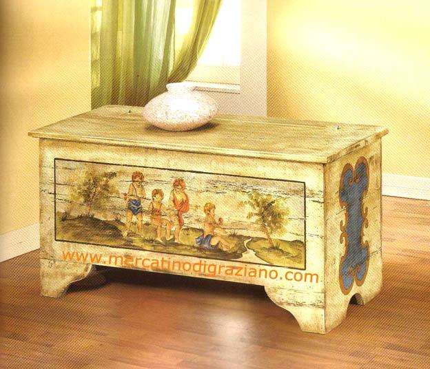 Старение мебели в стиле прованс 13