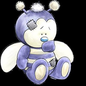 28 пчелка honey (300x300, 113Kb)