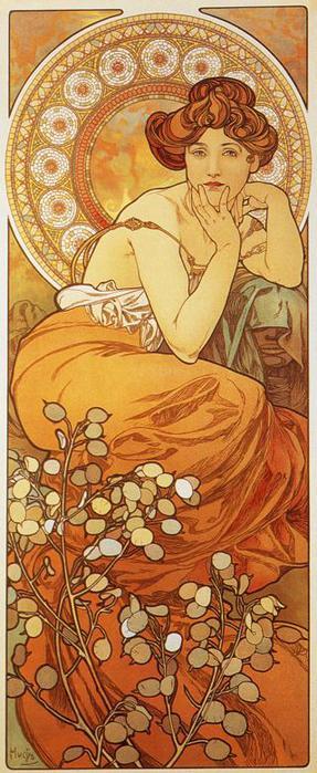 Топаз. Из серии Драгоценные камни. 1900 (287x700, 57Kb)