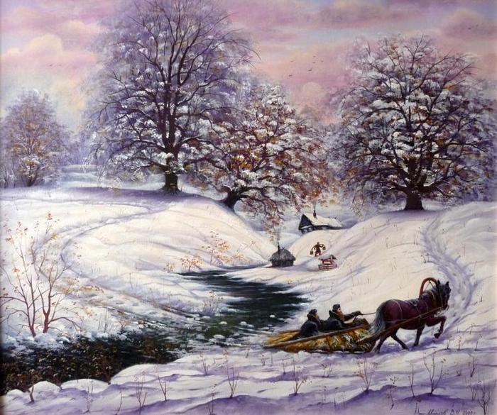 410853Марков Владимир. зима (700x585, 88Kb)